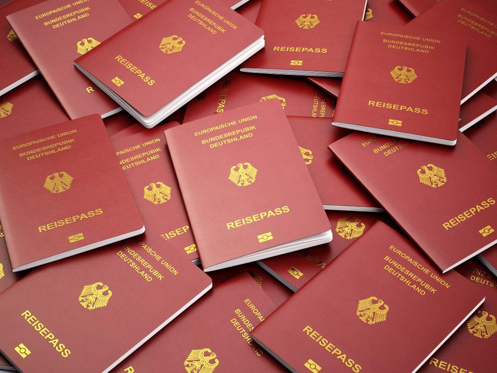 German passports