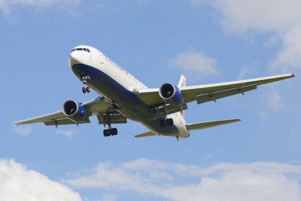 A Boeing 767