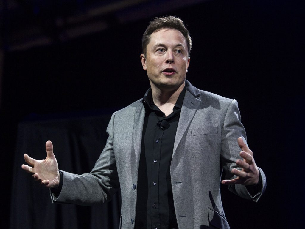 Tesla Motors CEO Elon Musk . (AP Photo/Ringo H.W. Chiu, File)