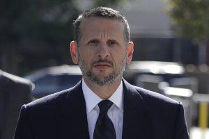 David Wildstein arriving at federal court in Newark, N.J., last month. (AP Photo/Julio Cortez, File)