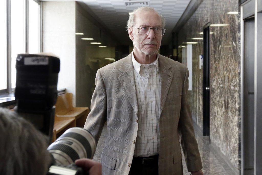 Stan Patz, father of Etan Patz, during a court recess Wednesday. (AP Photo/Richard Drew)