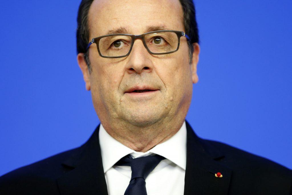 French President Francois Hollande (Charles Platiau/Pool Photo via AP)