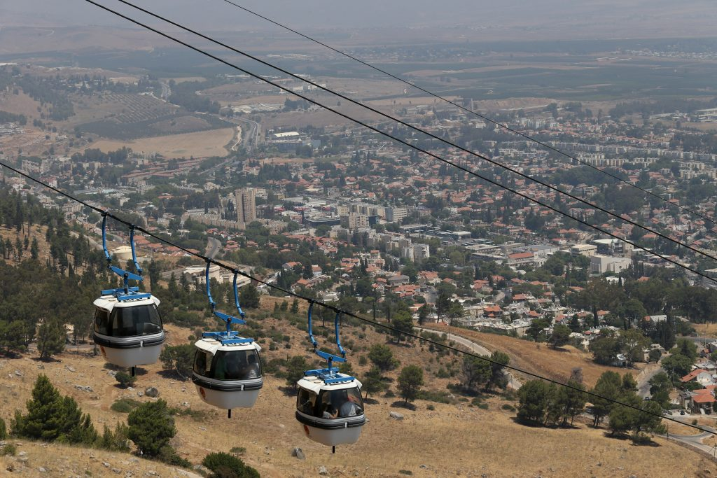A view of Kiryat Shmona  (Nati Shohat/Flash90)