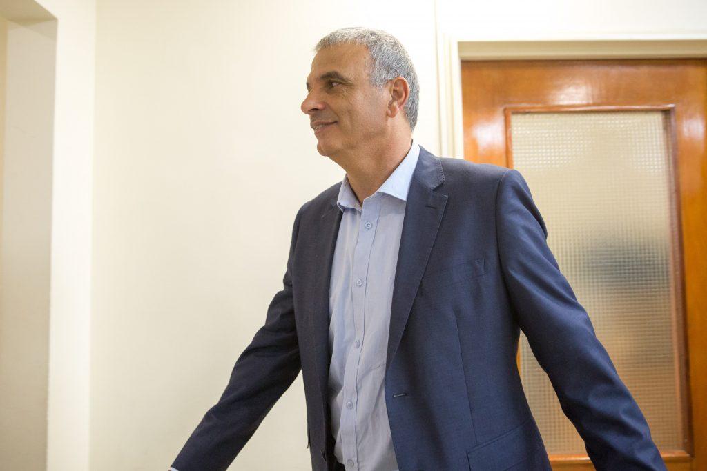 Israeli Finance Minister Moshe Kahlon (Emil Salman/Pool)