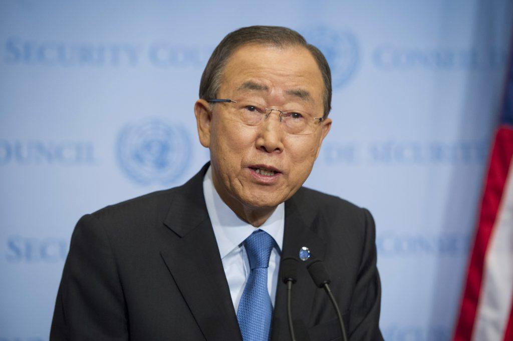 United Nations Secretary General Ban Ki-moon. (Rick Bajornas/United Nations via AP)