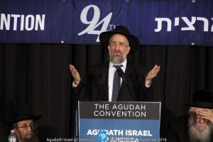 Rabbi Yisroel Reisman (Agudath Israel of America/Menachem Adelman/Moshe Gershbaum)