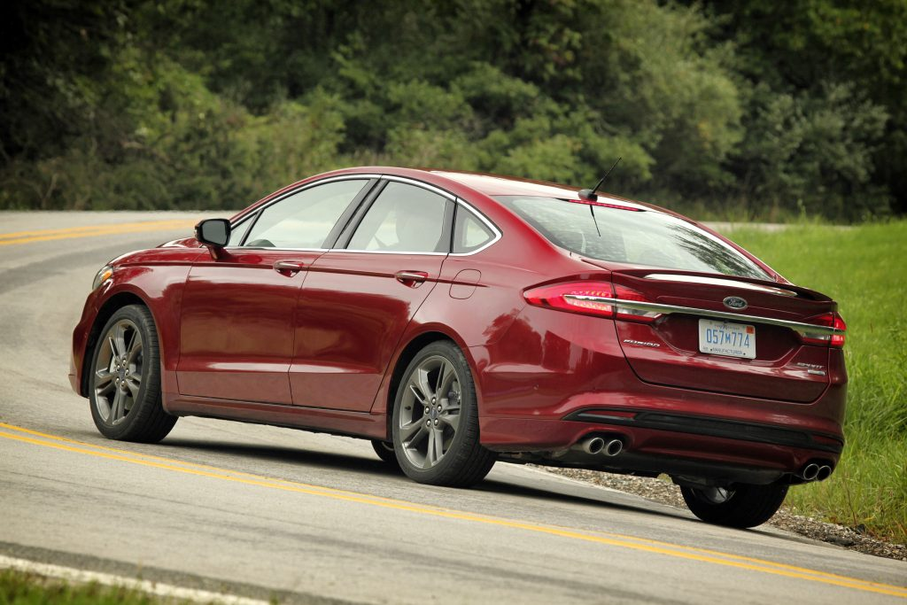 The 2017 Ford Fusion Sport (Ford)