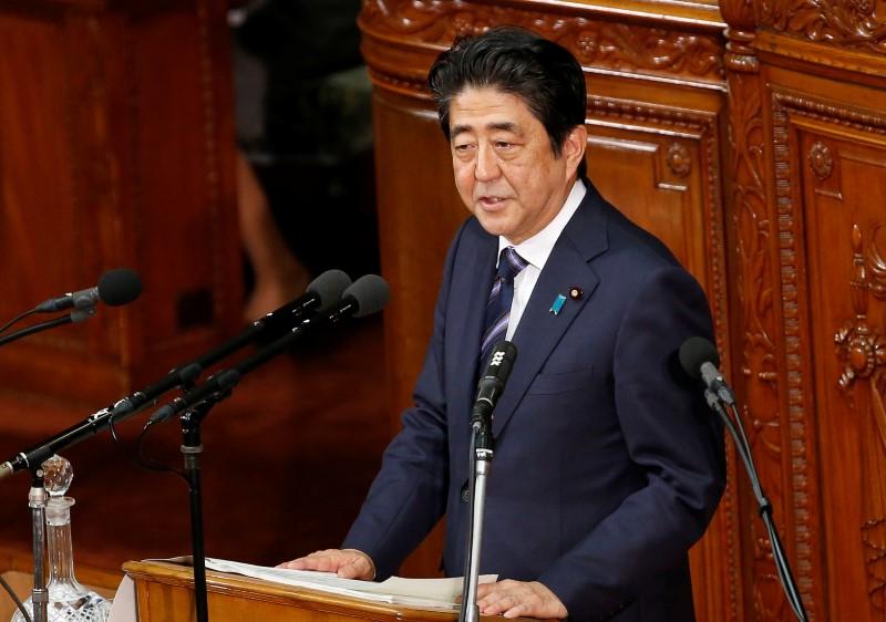 Japanese Prime Minister Shinzo Abe. (Kim Kyung-Hoon/Reuters)
