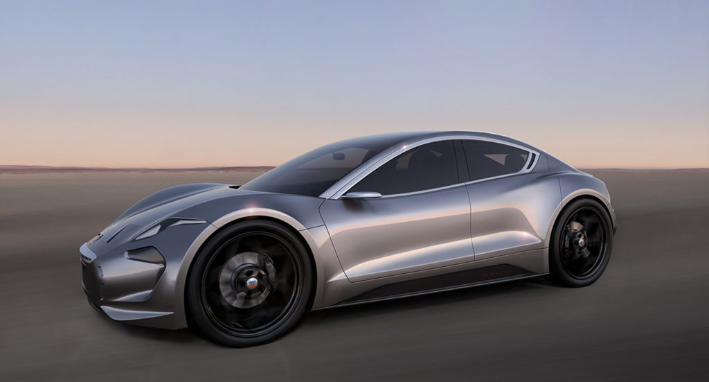 Henrik Fisker's latest creation, the EMotion, will look to take on Tesla and other high-end electric cars. (Fisker)