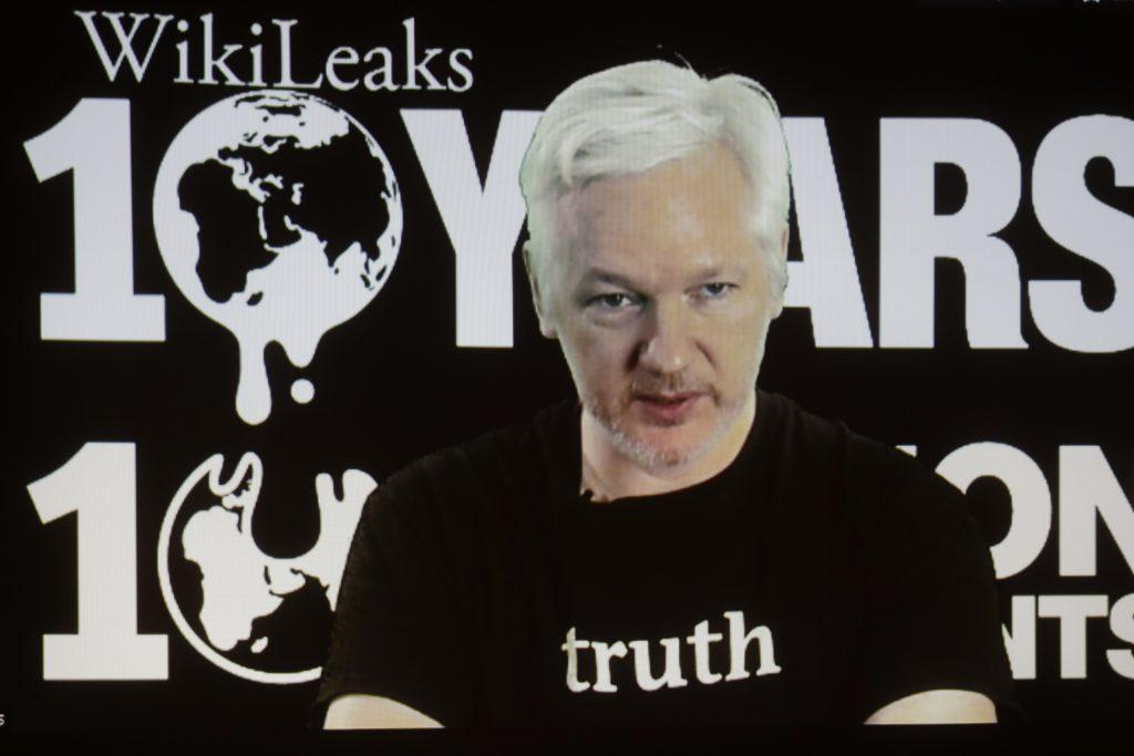 WikiLeaks founder Julian Assange (AP Photo/Markus Schreiber, File)