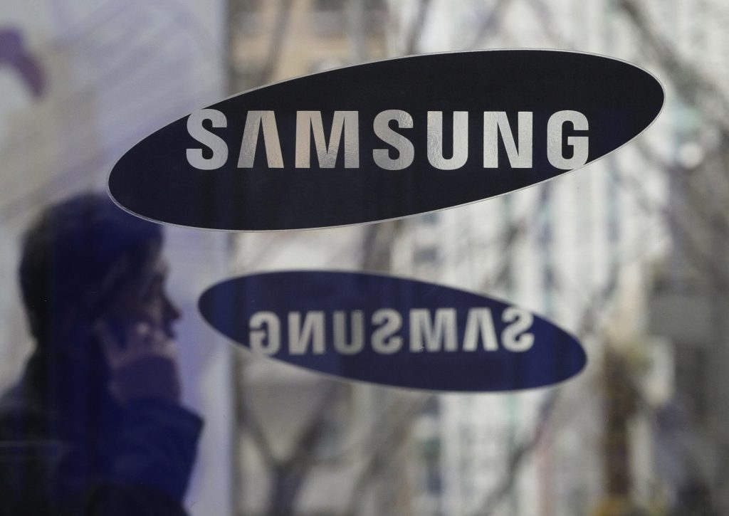 Samsung headquarters in Seoul, South Korea. (AP Photo/Ahn Young-joon, File)