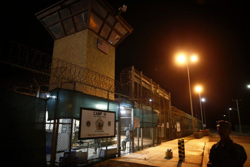 A 2013  photo of the at Guantanamo Bay. (AP Photo/Charles Dharapak, File)