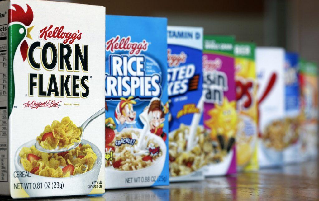 Kellogg's cereals (AP Photo/John Raoux, File)