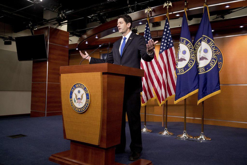 House Speaker Paul Ryan (AP Photo/Andrew Harnik)