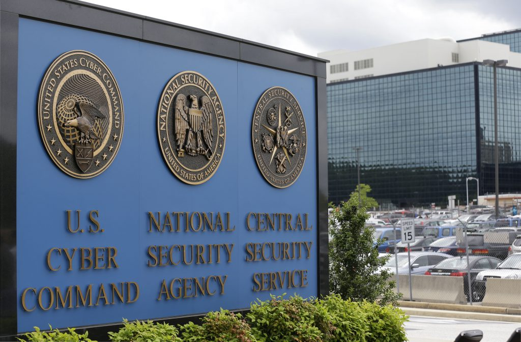 The National Security Administration (NSA) campus in Fort Meade, Md. (AP Photo/Patrick Semansky, File)