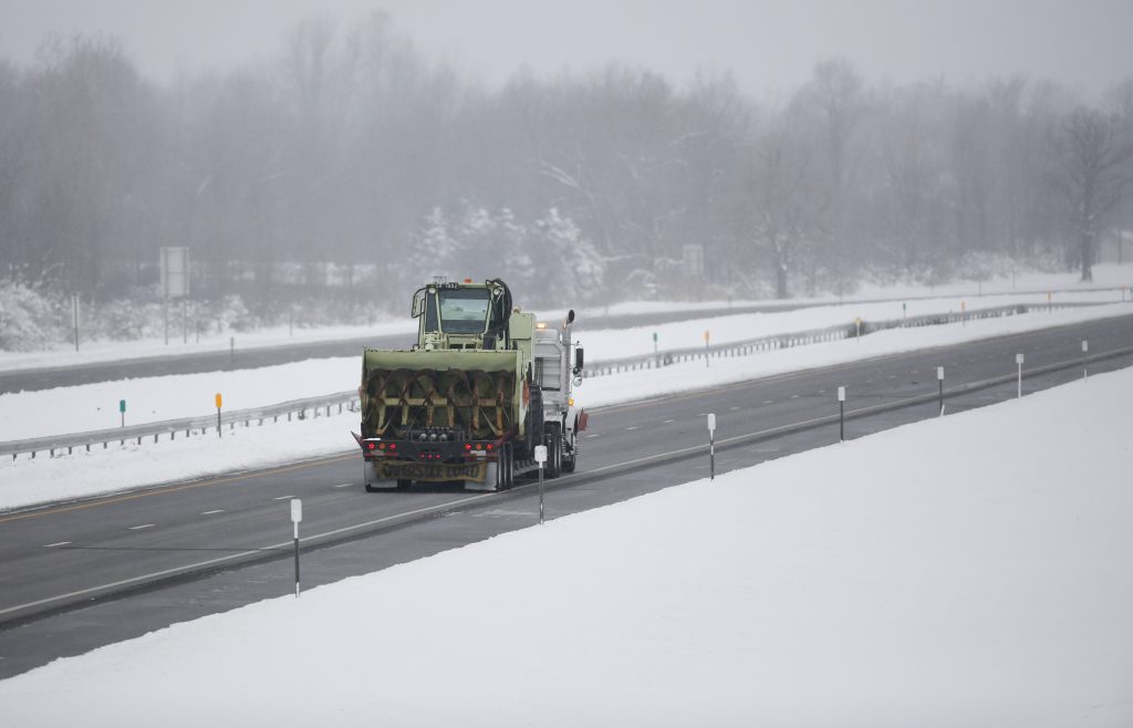 A stretch of the New York State Thruway in Lancaster, N.Y. (AP Photo/Mike Groll/File)