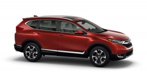 The 2017 Honda CR-V. (Honda)