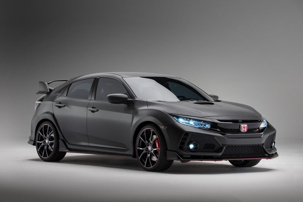 The Honda Civic Type R prototype. (Wieck/Honda)