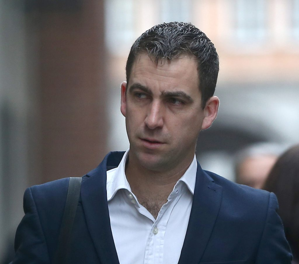 Brendan Cox, husband of murdered MP Jo Cox arrives the Old Bailey courthouse in London, Britain November 23, 2016. REUTERS/Neil Hall