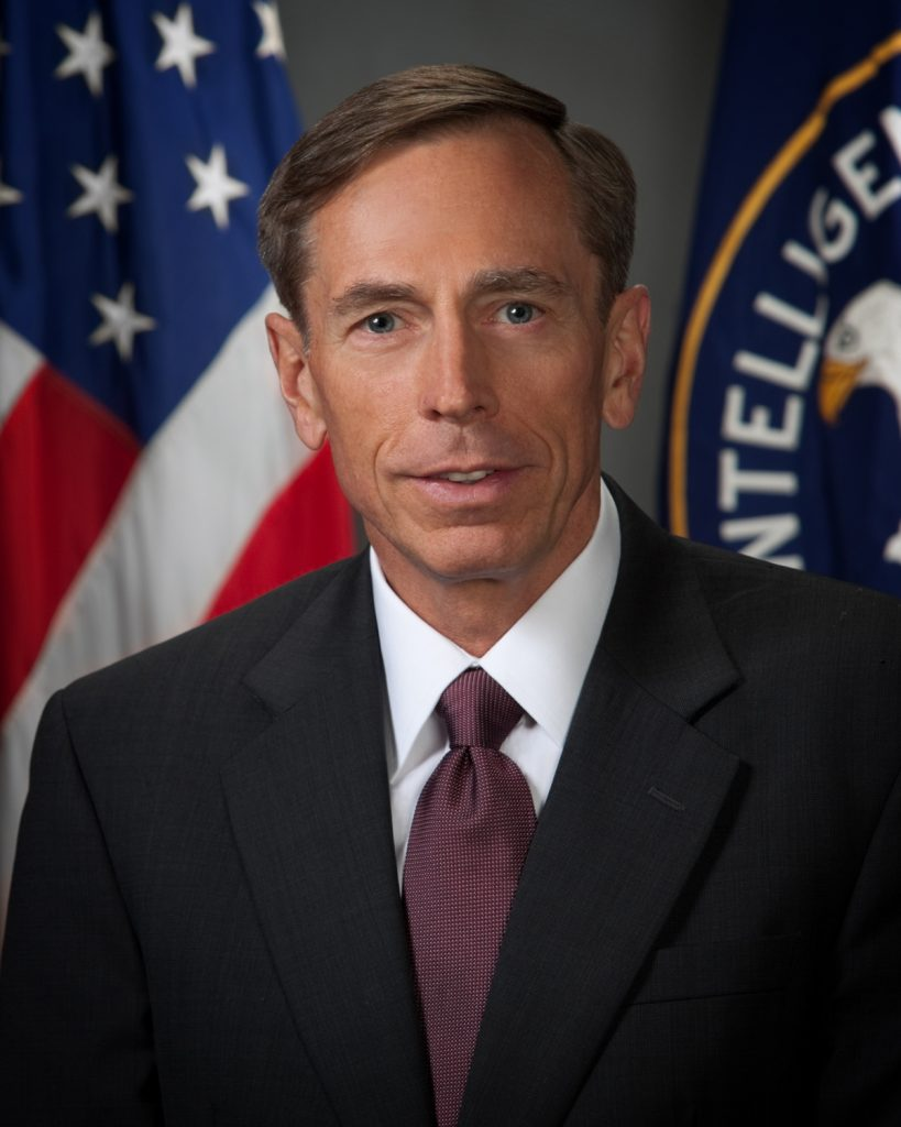 David Petraeus, Director of the Central Intelligence Agency