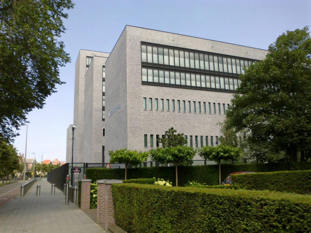 Europol headquarters at the Eisenhowerlaan in The Hague, the Netherlands,