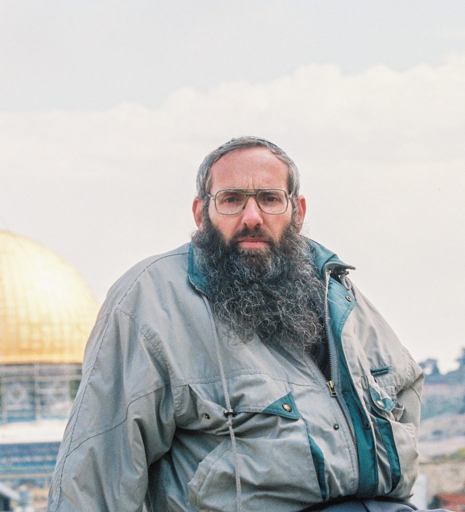 **FILE** Rabbi Eyal Qarim poses for a picture in the Old city of Jerusalem, March 19, 2000. Eyal Qarim was appointed the next IDF Chief Rabbi. Photo by Flash90