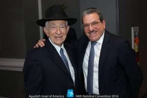 (L-R) Mr. Ben Zion Fishoff and Mr. Shlomo Werdiger (Agudath Israel of America)