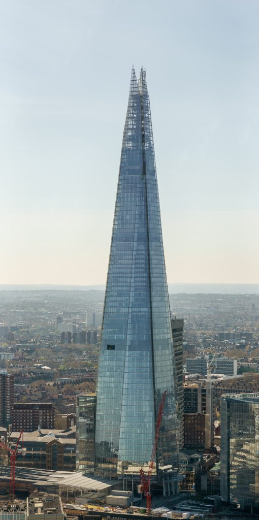 The Shard. (Colin/Wikimedia Commons)