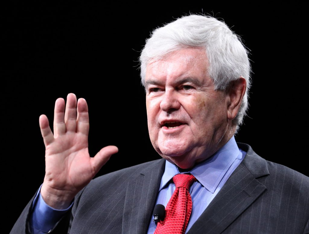 Former House Speaker Newt Gingrich. (Joe Burbank/Orlando Sentinel/TNS)