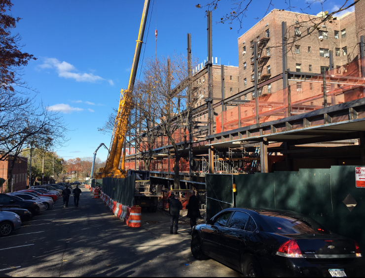 The scene of the deadly accident Tuesday afternoon. (FDNY)