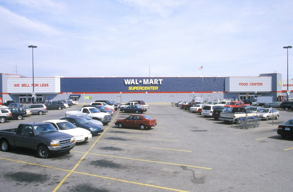 A Wal-Mart store in Arkansas.