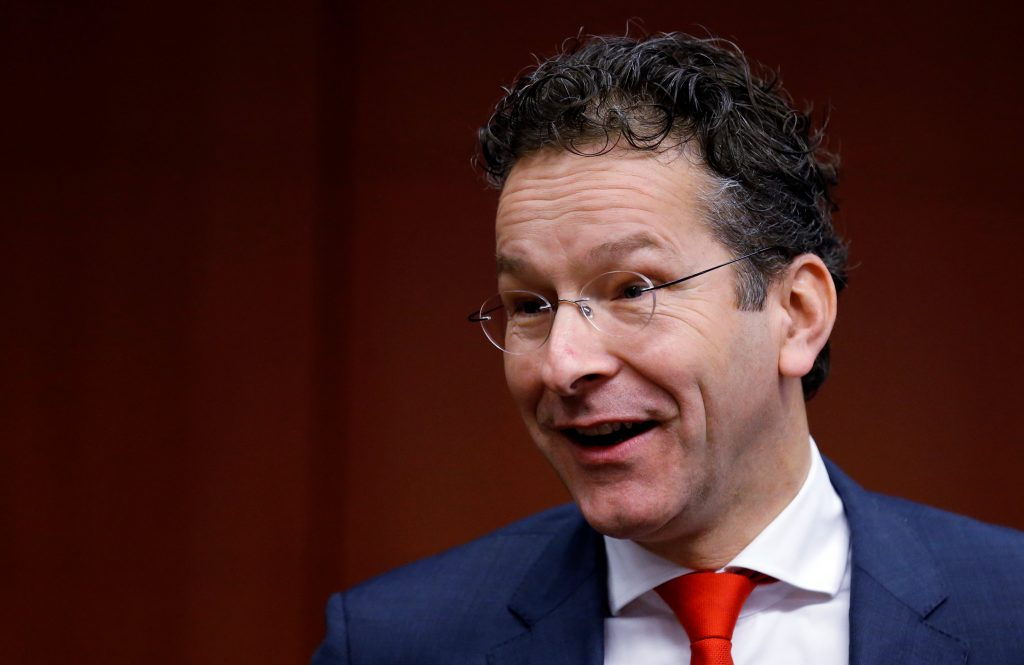Dutch Finance Minister and Eurogroup President Jeroen Dijsselbloem (Reuters/Francois Lenoir)
