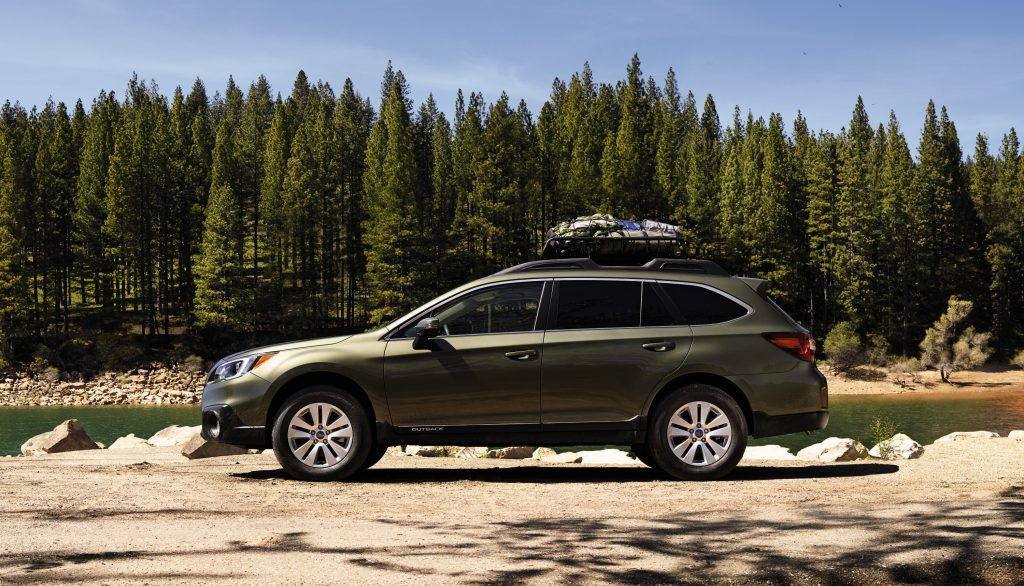 The 2017 Subaru Outback is powered by a 3.6-liter, six-cylinder engine, and grips the road beautifully through a symmetrical all-wheel-drive powertrain and six-speed automatic transmission. (Subaru/TNS)