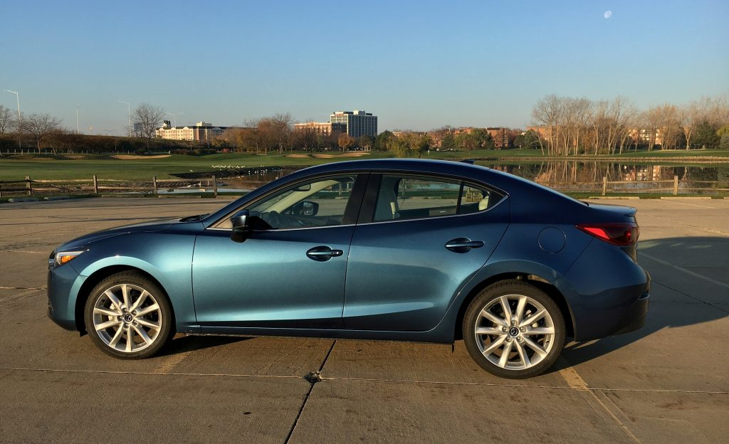 The 2017 Mazda3 compact sedan. (Robert Duffer/Chicago Tribune/TNS)