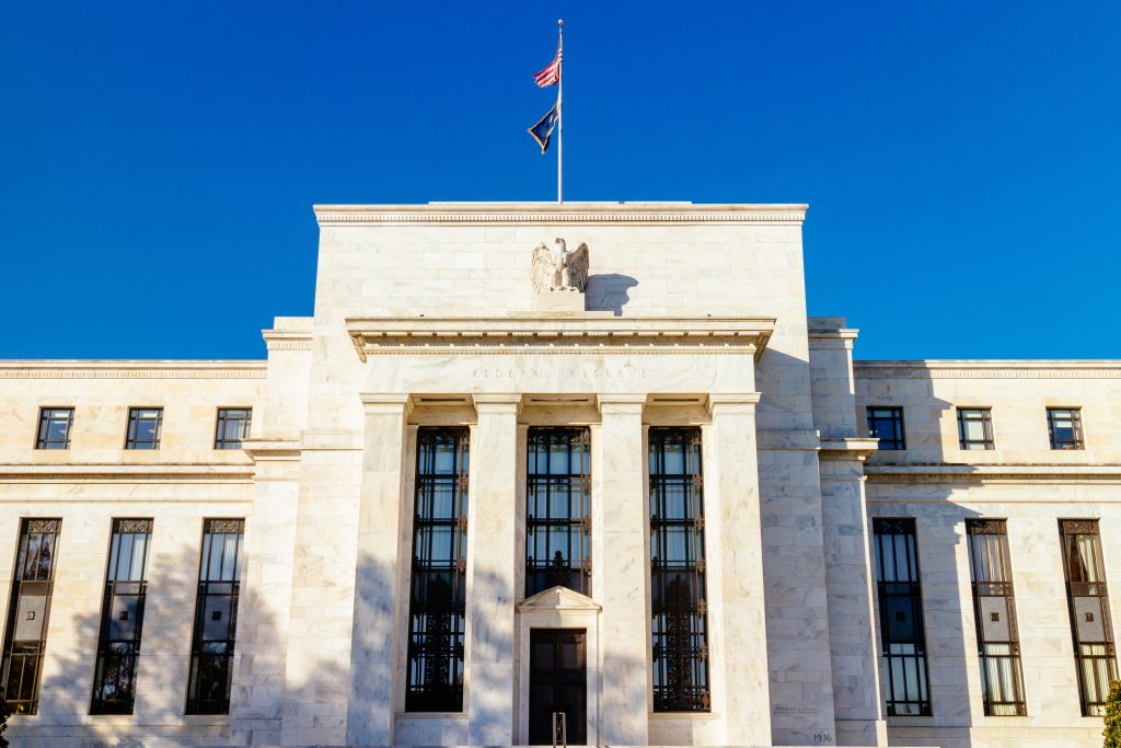 The Federal reserve Building in Washington D.C.