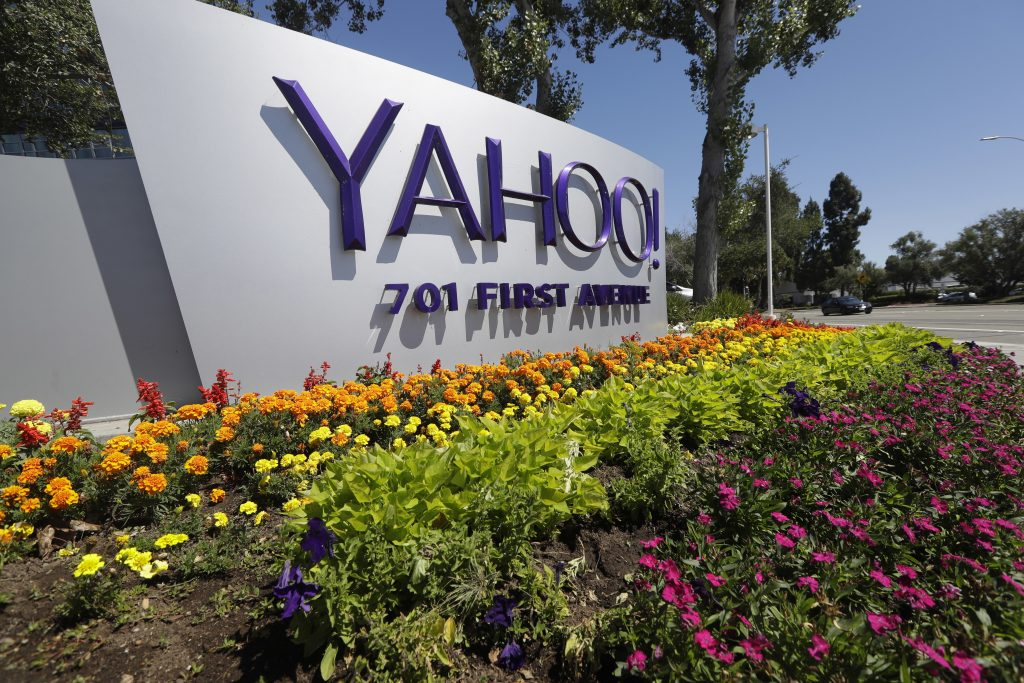 Yahoo headquarters in Sunnyvale, Calif. (AP Photo/Marcio Jose Sanchez)