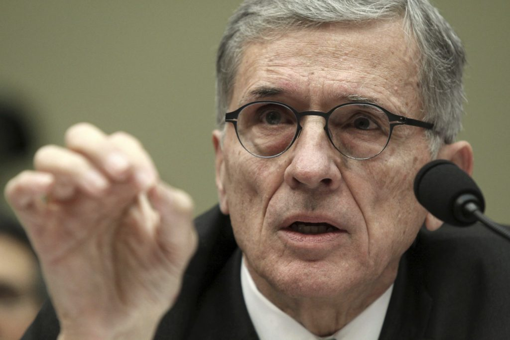 Federal Communications Commission Chairman Tom Wheeler (AP Photo/Lauren Victoria Burke, File)