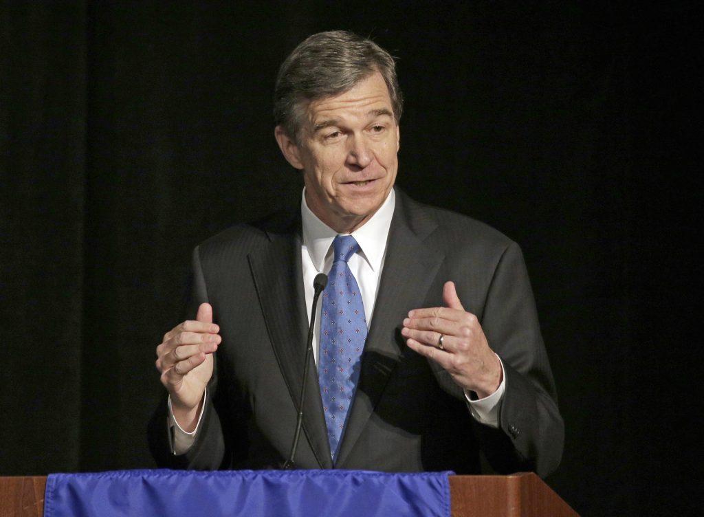North Carolina Attorney General Roy Cooper (AP Photo/Chuck Burton, File)