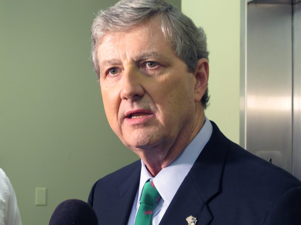 Louisiana Republican Senate candidate John Kennedy. (AP Photo/Melinda Deslatte)