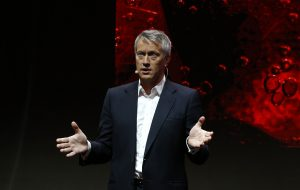 The Coca Cola Company President and Chief Operating Officer James Quincey. (AP Photo/Jacques Brinon)