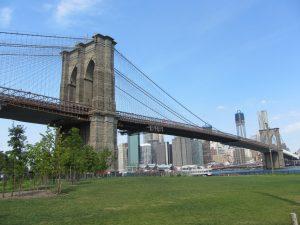 The Brooklyn Bridge. (Flickr/Wikipedia)