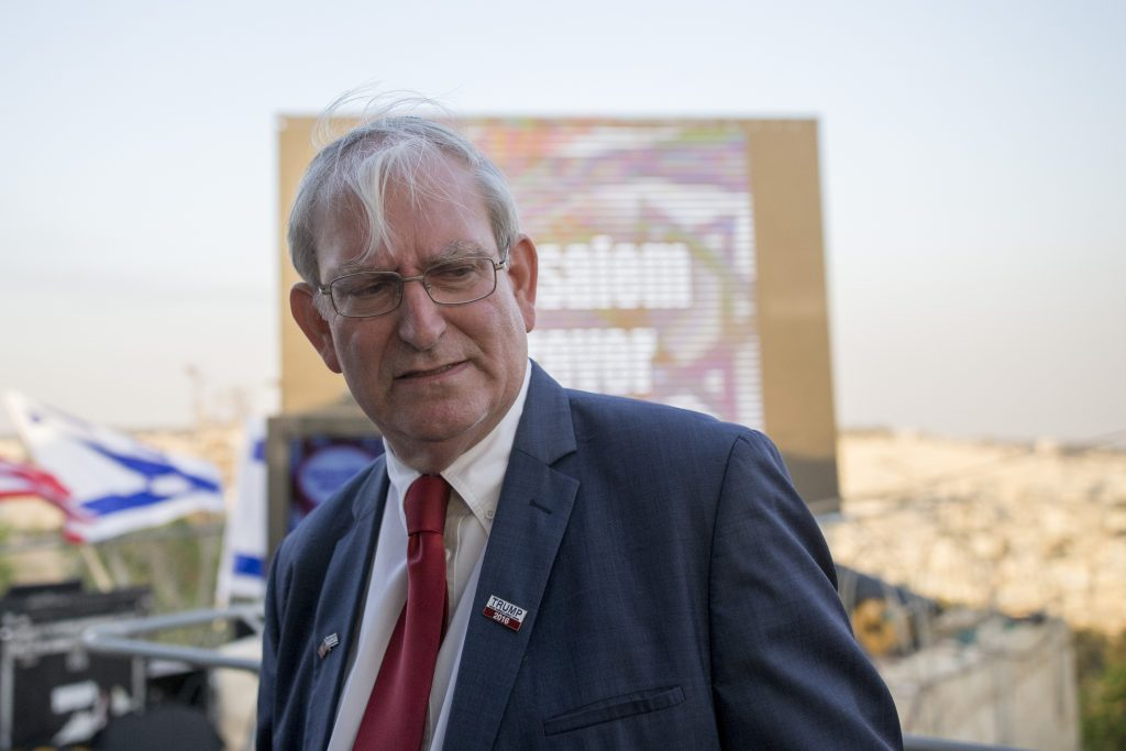 Marc Zell, Chairman of the Republican Party in Israel. (Yonatan Sindel/Flash90)