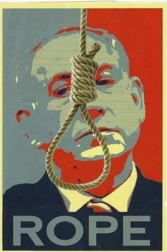 "The ""Rope"" poster that has raised a furor."