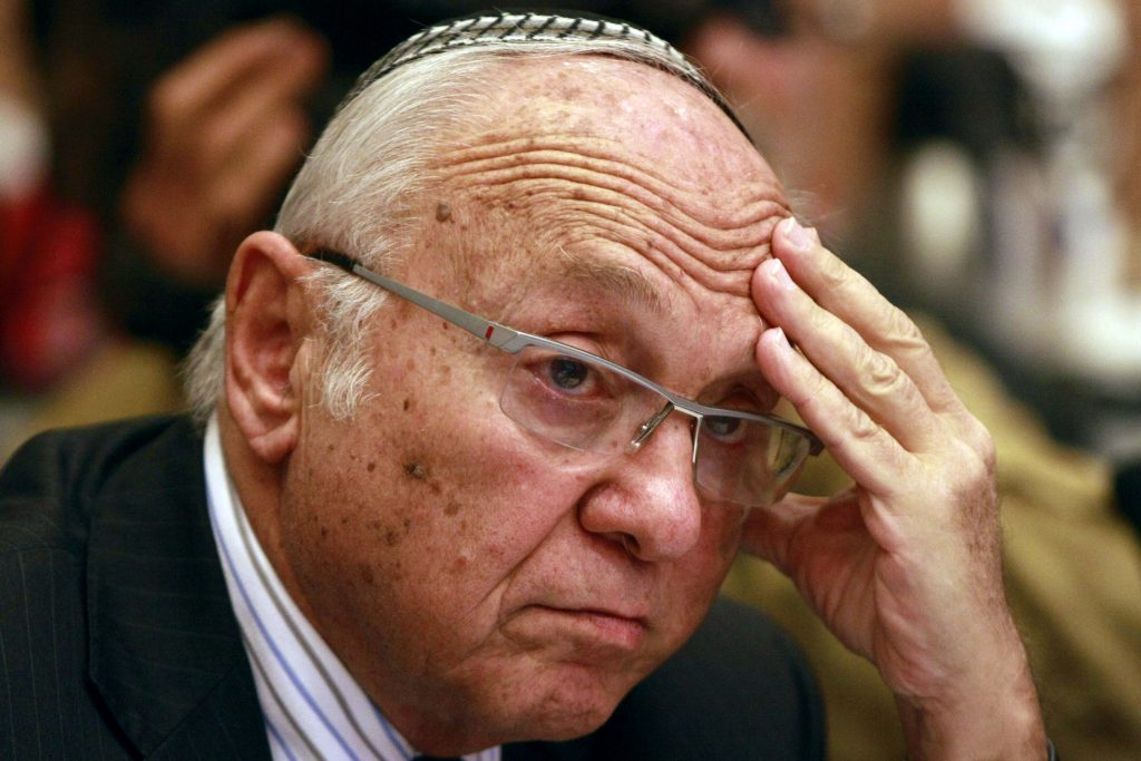 Former Israeli Justice Minister Ya'akov Neeman passes away. Hamodia Jewish Community News