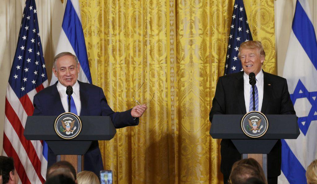 Trump, Israel, Netanyahu
