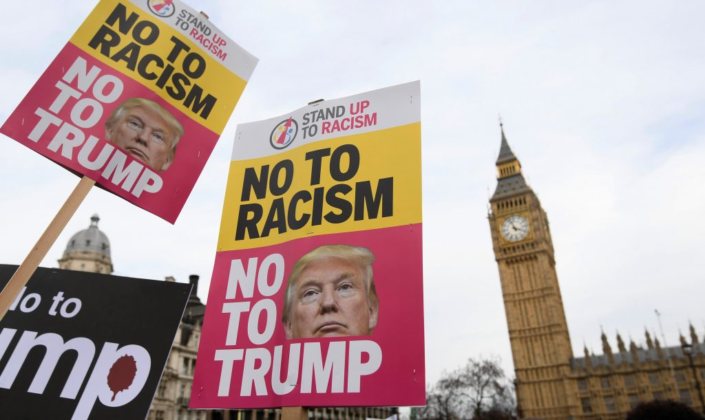 Image result for uk protest trump visit