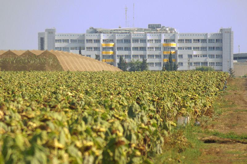 The Western Galil Medical Center in Nahariya