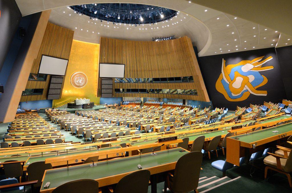 Trump, U.N., Envoy, Nuclear Ban Conference