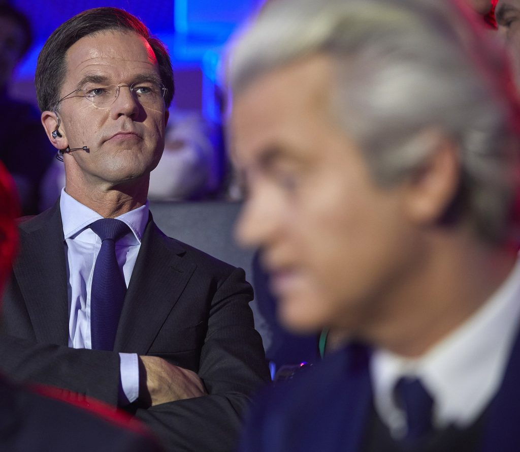 Maurits Hendriks Netherlands Prime Minister Mark Rutte L: Dutch Polls Open In Test Of Anti-Establishment Sentiment