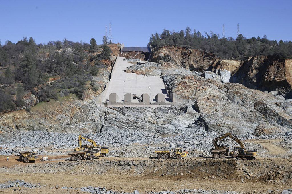 dam, repairs, ca., calif., california